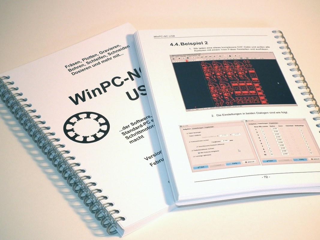 WinPC-NC Version 3 gedrucktes Handbuch