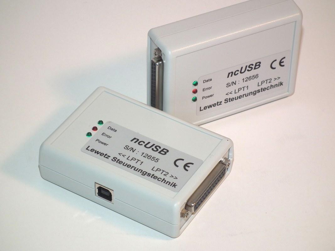 WinPC-NC USB mit ncUSB-Box