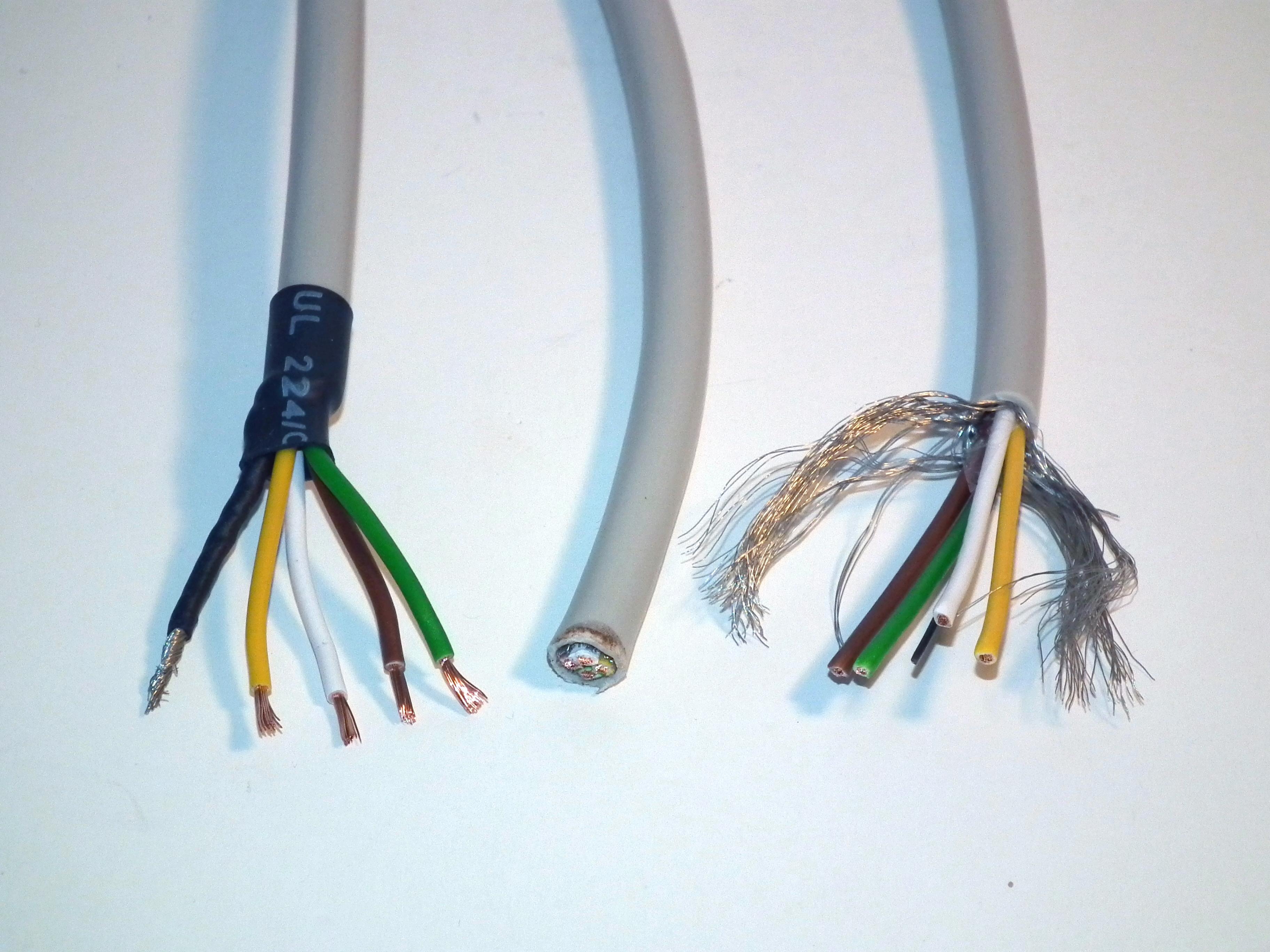 Schrittmotoranschlusskabel für StepMAX oder CNCMAX