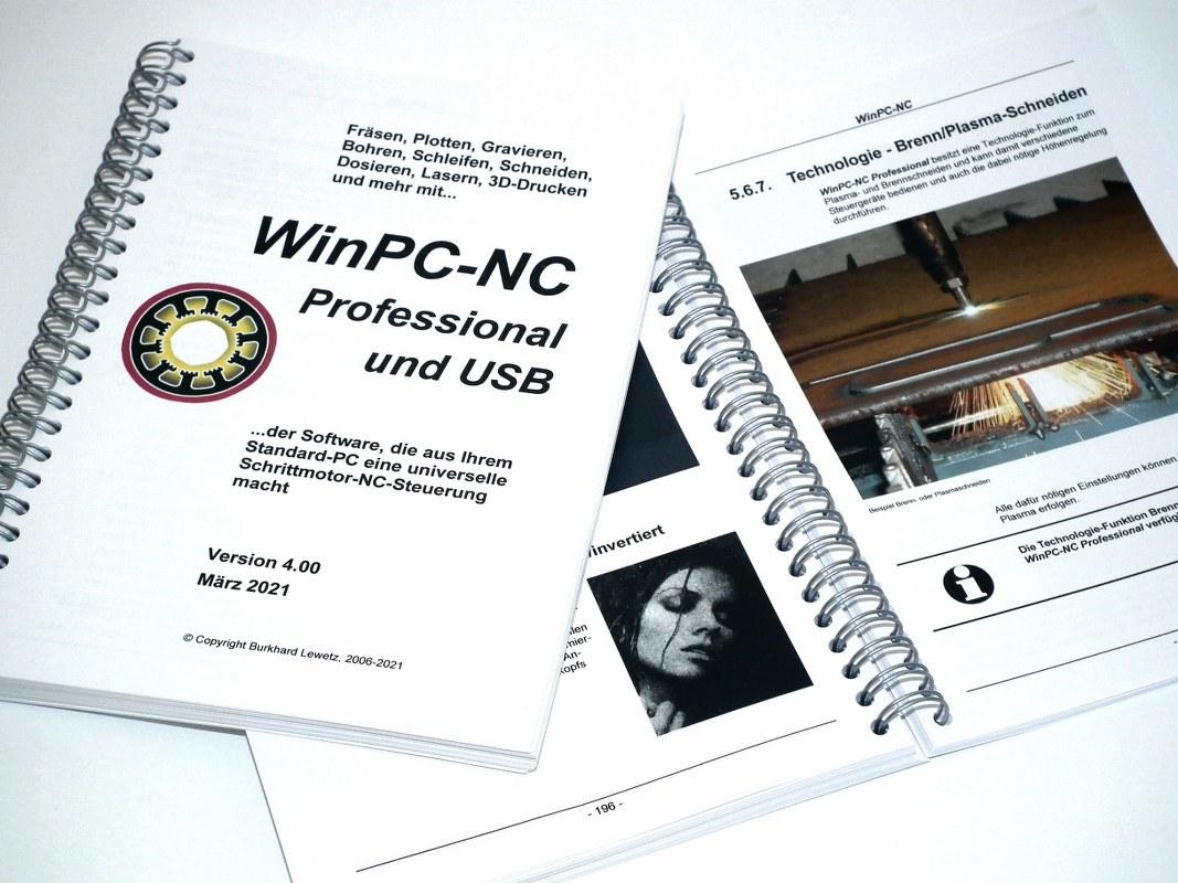 WinPC-NC Version 4 gedrucktes Handbuch